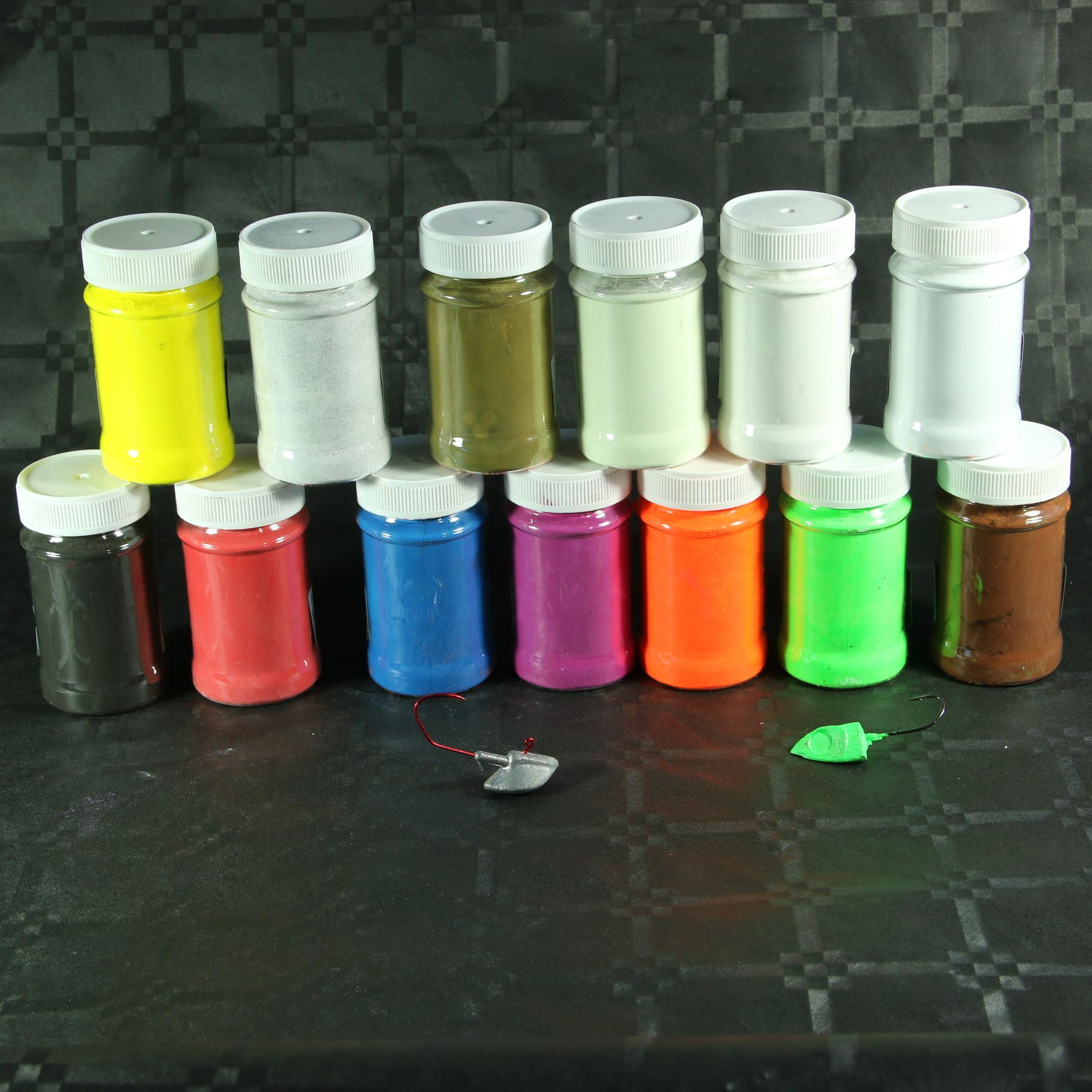 Colorant poudre pour plomb 70g bricoleurre - Colorant pour huile de lin ...