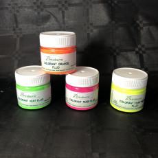 Colorant poudre fluo