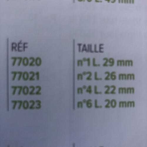TRIPLES RENFORCES ST 41
